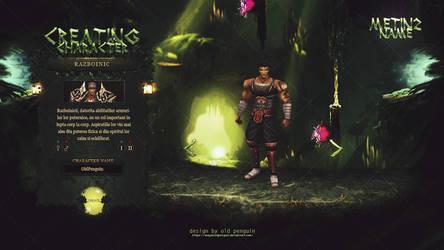 Metin2 Creating Character by MayasOldPenguin