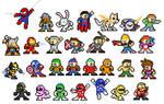 29 Mega Man Leftovers by captainslam