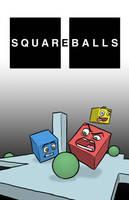 'Squareballs' Concept Poster by captainslam