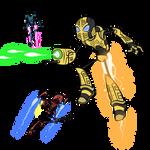 'Hive Wars' Concept Art by captainslam