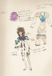 Quin Prototype reference .:Concept Art:. by ChimeraChangeling