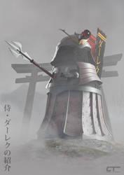 The Samurai Dalek by Chrisofedf