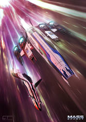 Mass Effect: Faster than Light by Chrisofedf