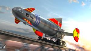 Fireball XL5: Lets Go! by Chrisofedf