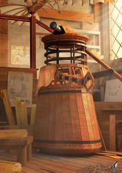 Dalek Vinci by Chrisofedf