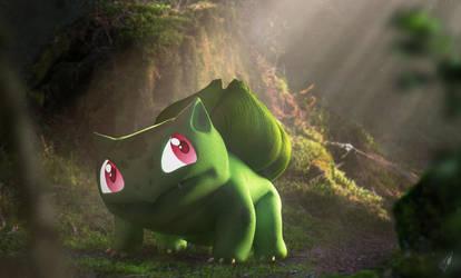 A Wild Bulbasaur by Chrisofedf