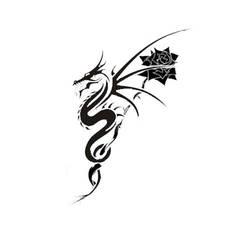 Dragon Rose by Gartley
