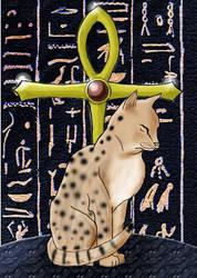 Egyptian Mau by Gartley