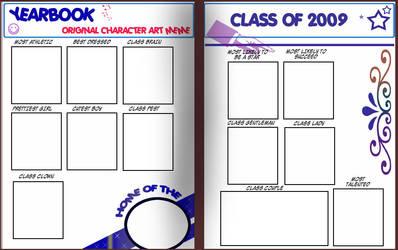 Yearbook OC Art Meme by TRALLT