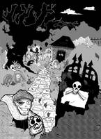 Halloween: Death Decor by TRALLT