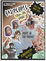 Bat People Poster by TRALLT