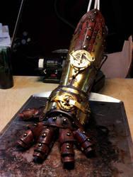 Steampunk Gauntlet - Thomas Reinier by deadlanceSteamworks