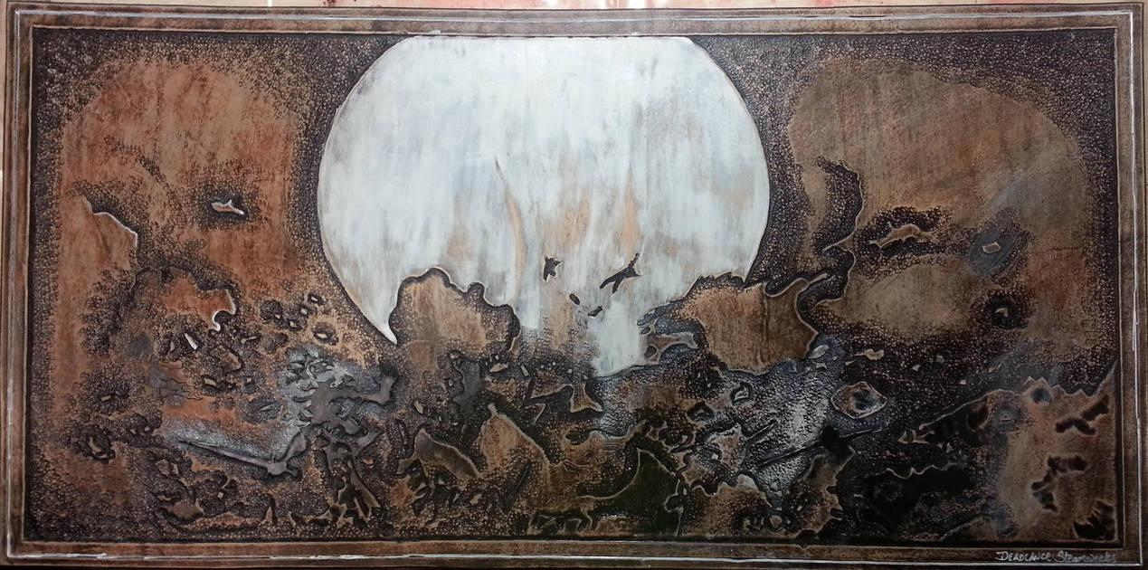 Magic the Gathering Leather Playmat Wrath of God by deadlanceSteamworks