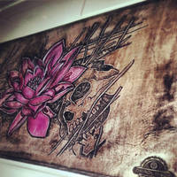 MtG:O Playmat - Cube Black Lotus Alter - 1 by deadlanceSteamworks