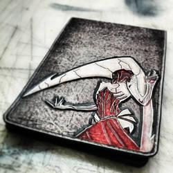 Elesh Norn, Grand Cenobite - M:tG Lifepad by deadlanceSteamworks