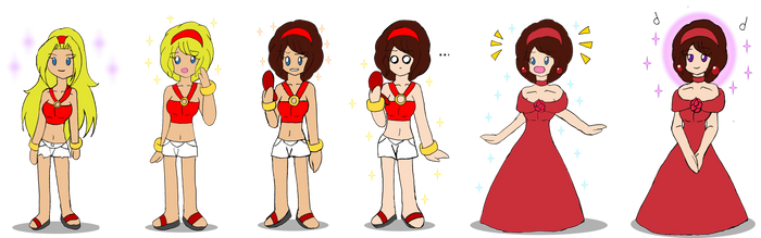 Summer Springs  Chain -Natural Hair Color Version- by Chicken-Yuki