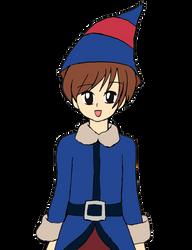 Harvest Moon Holiday: Hiro The Christmas Elf by Chicken-Yuki