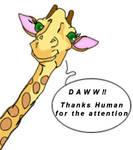 Facebook Giraffe by ThatMansour