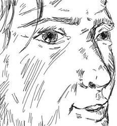 Face Sketch by ThatMansour
