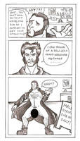 x-men origins wolverine doodle by puking-mama