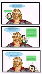 Loki and Thor - The Trial by puking-mama