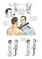 Silent Hill Downpour - Sewell x Murphy SHOWERS! by puking-mama