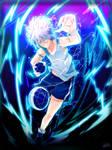 Killua [Hunter x Hunter]  by Ashirei