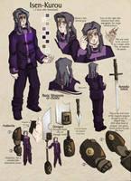 Isen-Kurou::Reference Sheet by KetsuoTategami