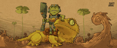 The Gecko Guard by KetsuoTategami