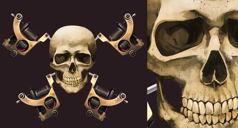 Skull by KetsuoTategami