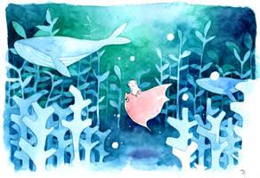 Sea forest by moko-oxygen