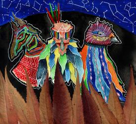 field spirits by FireRaiserXD