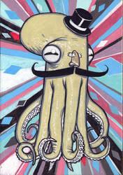 Fancy Octopus by Jeremy-Forson