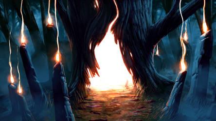 Tree Portal by Jeremy-Forson