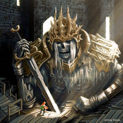 Boss Knight by Jeremy-Forson