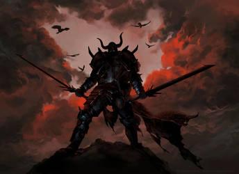 Dark Knight by priapos78