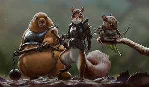 The Rodents by priapos78
