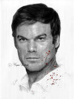 Dexter Morgan by vipinkabadi