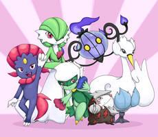 My team by MirandaMaija