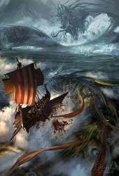 Norse Columbus by artozi