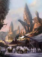 Rhinoceros Temples by artozi