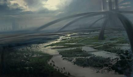 Metal River by artozi
