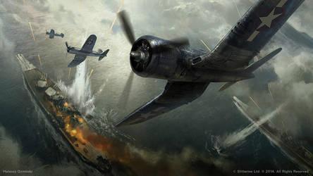 Pacific War by artozi