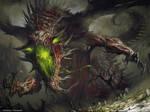Undead dragon by artozi