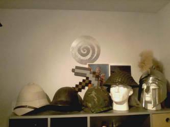 Helmets by extondude