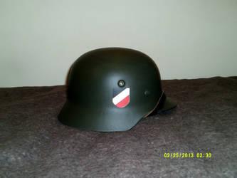 German M35 Stahlhelm restored by extondude