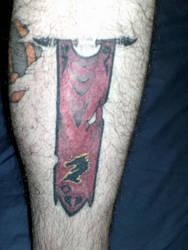 Ebonheart Banner tattoo by extondude