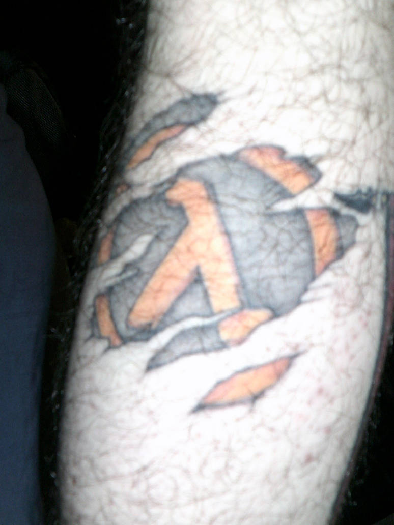 Lambda symbol from half life by extondude