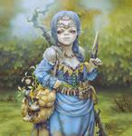 Blue Witch by ArtOfKoR