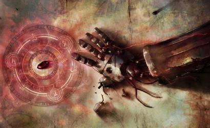 Fullmetal Alchemist Automail by Southfede